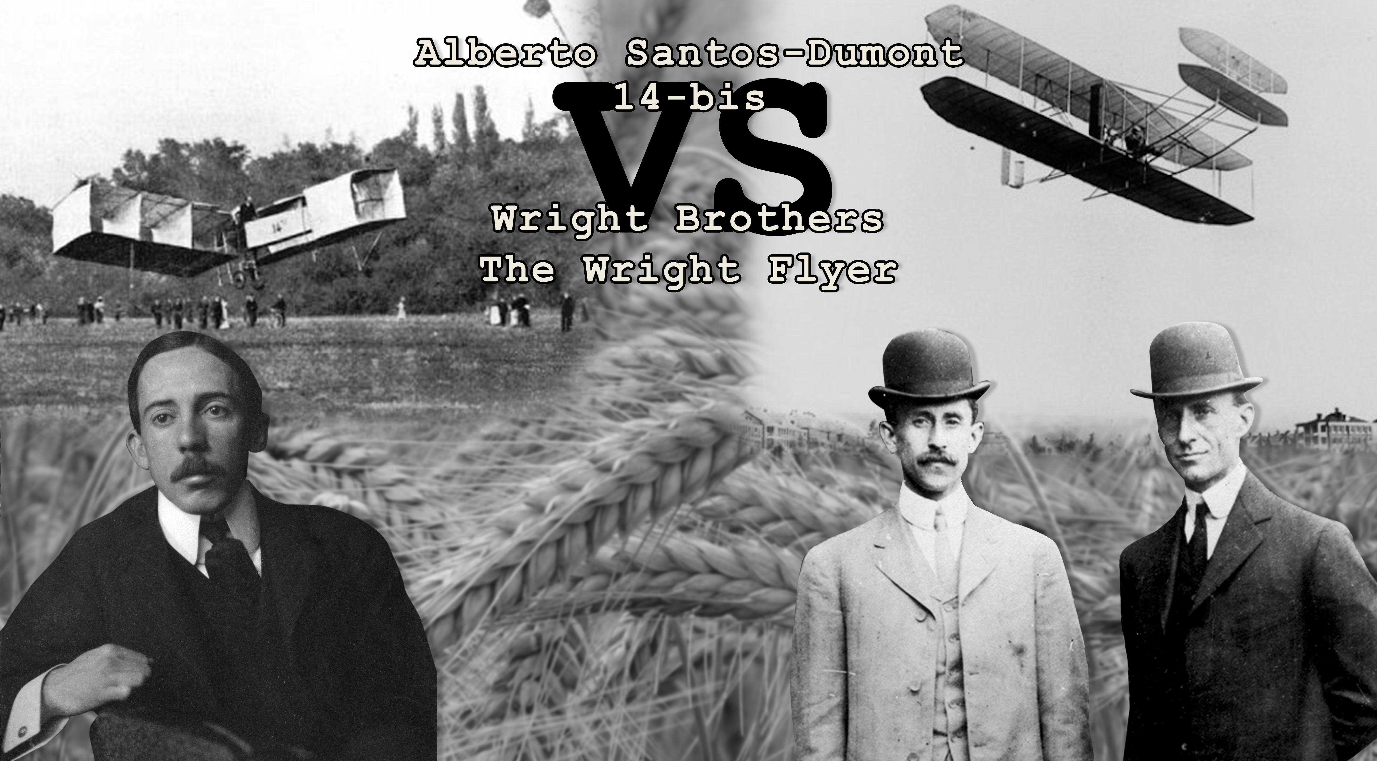 First Wright Brothers Flight within santos-dumont vs. right bros: who really invented the airplane?