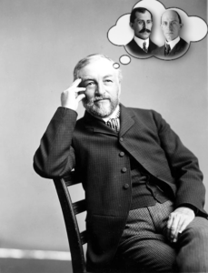 Samuel Pierpont Langley was Secretary to the Smithsonian Institution from 1887-1906