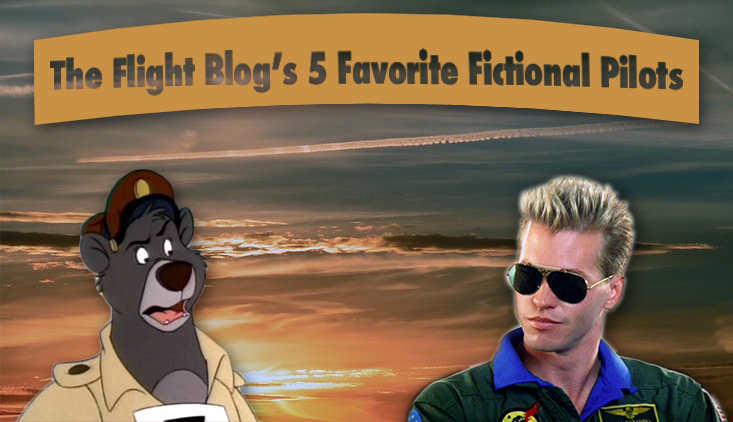 the flight blog, fictional pilots, best fictional pilots, aviation movies, top pilots,