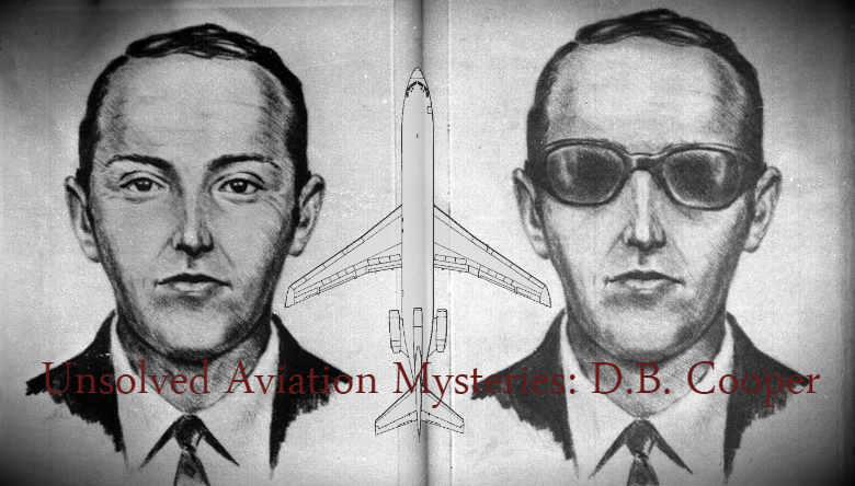 D.B. Cooper, aviation mysteries, unsolved mysteries