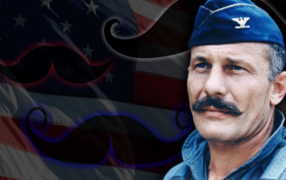 mustache march, U.S. Air Force, Robin Olds, Robin Olds mustache