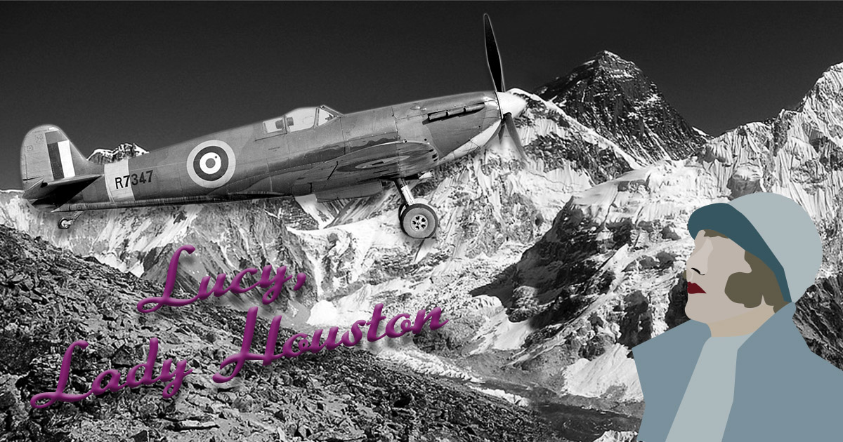 lucy lady houson, lady houston, fanny houston, mother of the spitfire, saviour of the spitfire