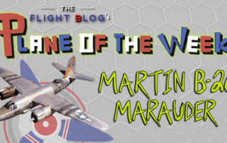 Martin B-26 Marauder, plane specs, plane of the week, the flight blog