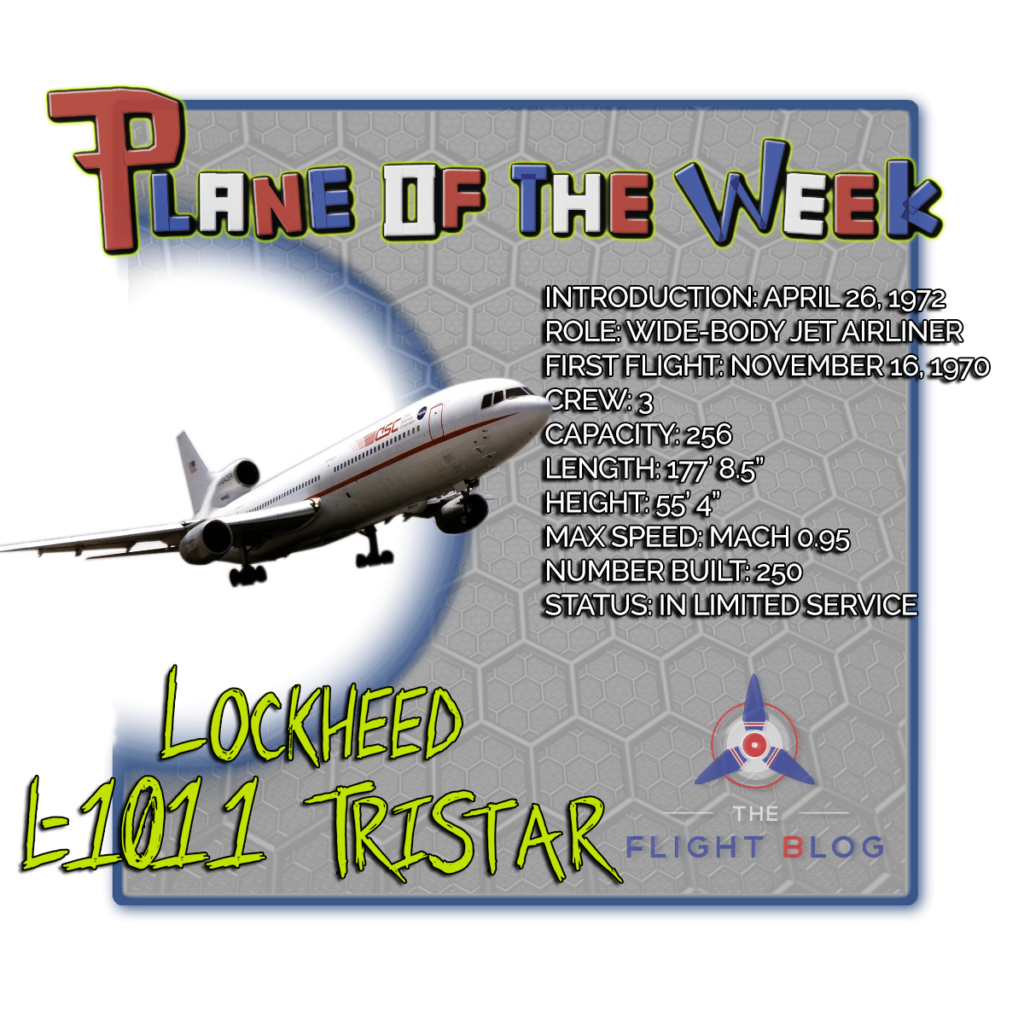 Lockheed L-1011 TriStar, plane of the week, the flight blog